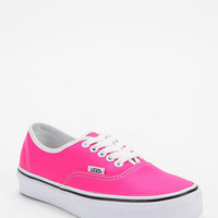 Vans Authentic Neon Leather Sneaker