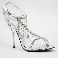 Formal Prom Shoes, Rhinestone Shoes, Prom Heels, Promshoe-500 - 3