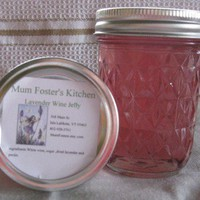 Lavender Wine Jelly 