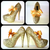 Starlet Glitter High Heels