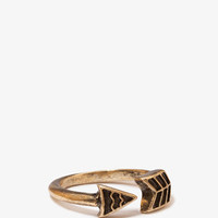 Burnished Arrow Ring | FOREVER 21 - 1049212129