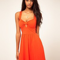 ASOS | ASOS Sundress With Sweetheart Neck at ASOS