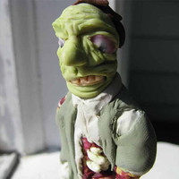 Undead Zombie figure Business Man in Zombie Apacolypse by artbyljw