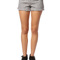 Papaya Clothing Online :: CUFFED WOVEN SHORTS