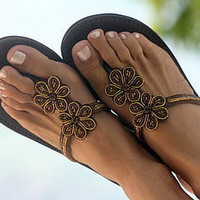 bibi sandals by aspiga | notonthehighstreet.com