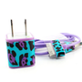 Double Trouble Funky Cheetah Print iPhone charger with USB Cable &amp; Wall Adapter