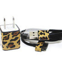 FAST SHIPPING Marc Jacobs inspired Leopard iPhone charger
