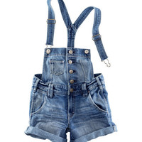 Overall Shorts - from H&amp;M