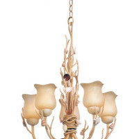 Kalco 6077 Atlantis 5 Light Single Tier Chandelier | Capitol Lighting 1800lighting.com