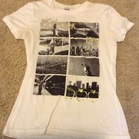delias new york tshirt