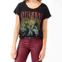 Oversized Nirvana Top | FOREVER 21 - 2021840118