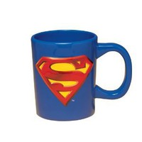 Vandor 74001 Superman Sculpted Mug, Blue, 18-Ounce