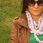 Crochet Infinity Scarf, Grey Hot Pink Chunky Crochet Chain Cowl, Extra long Fashion Scarf