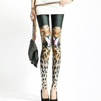 Tiger Design Leggings