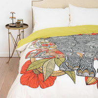 Urban Outfitters - The Elephant Duvet Cover By Valentina Ramos