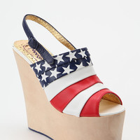 Flag Platform Wedge