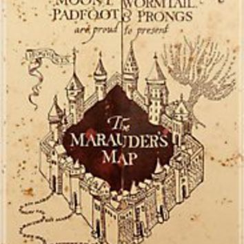 """Marauders Map Iphone Case"" iPhone & iPod Cases by Rachel Miller 