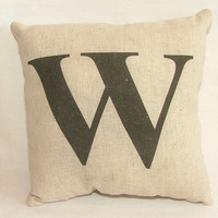 SALE - Custom Monogram Pillow