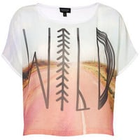 Wild Photographic Tee - New In This Week  - New In  - Topshop