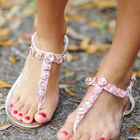 Diamonds Are A Girls Best Friend Sandals | Hope&#x27;s
