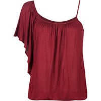FULL TILT One Shoulder Womens Top 186400320 | clothing | Tillys.com