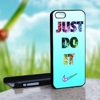 Nike Just Do It Bling Custom - Photo On Hard Cover For iPhone 4,4S