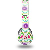 Kearas Tribal 1 Decal Style Skin (fits Beats Solo HD Headphones - HEADPHONES NOT INCLUDED)