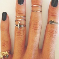 Have You Knocked on the Knuckle Ring?