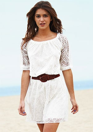 dELiAs > Allover Long-Sleeve Lace Dress > dresses > casual
