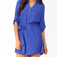 Belted Shirtdress | FOREVER 21 - 2000022286
