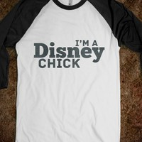 Disney Chick (Baseball Tee) - hopealittle tee's