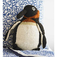 Wooly Kenyan Penguin Pillow