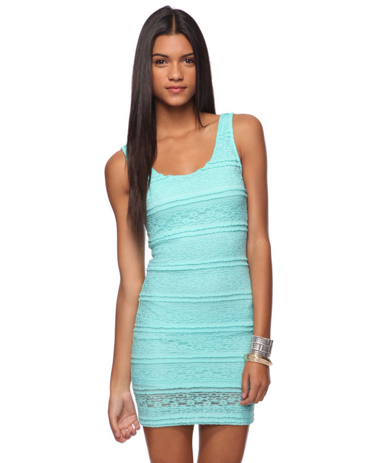 Floral Lace Bodycon Dress | FOREVER21 - 2074201841