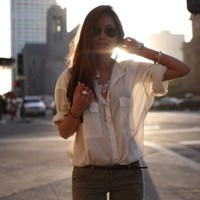The Classic White Blouse