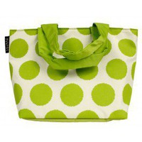 Pear Polka Dot Lunch Tote