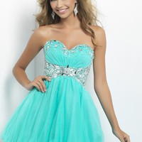 Homecoming dresses by Blush Prom Homecoming Style 9679