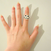 Jack Skellington Adjustable Ring