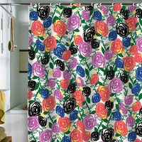 Khristian A Howell Valencia 05 Shower Curtain