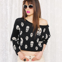 Betsey Johnson - Skull Jacquard Biggie