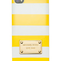 MICHAEL Michael Kors iPhone 5 Case, Striped Tech Cover - Tech Cases & Accessories - Handbags & Accessories - Macy's