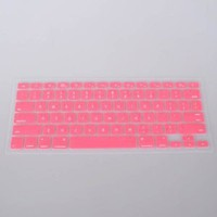 Neewer Pink Keyboard Silicone Skin Cover for Apple Macbook Pro