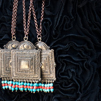 Tibetan Necklace, Boho Necklace, Statement Necklace