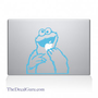 Cookie Monster Macbook Decal | Macbook Vinyl Decals | The Decal Guru