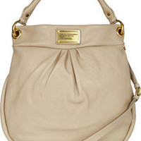 Marc by Marc Jacobs | Hillier Hobo textured-leather shoulder bag | NET-A-PORTER.COM