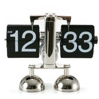 Balance Double-Legged Flipping Fashion Clock