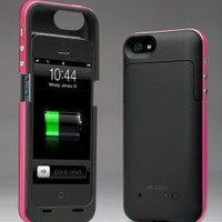 i-Blason PowerPack iPhone 5 Rechargeable External Battery Glider Full Protection Case with Micro 5 Pin USB Charging Port - AT&T, Sprint, Verizon (Pink)