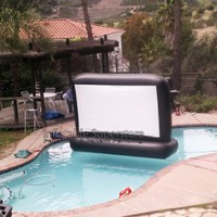 7&#x27; Aquascreen - Floatable Inflatable Movie Screen (.5mm Pvc)