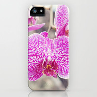Orchid Hush  iPhone Case by Bree Madden