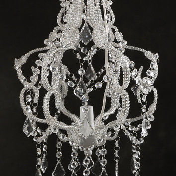 Victorian Crystal Hanging Chandelier Light