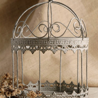 "11"" Decorative Birdcage Display"